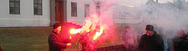 Manngildi ofar auðgildi - Hausmynd